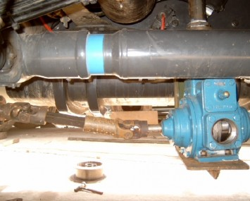 Pump Operated By The Vehicle's Power Take Off (Pto)