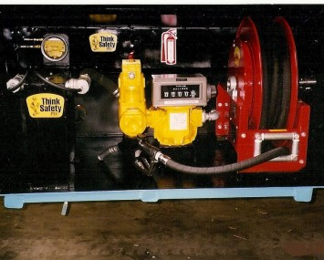 Equipment For Dispensing Diesel No. 2 From A Tank Truck
