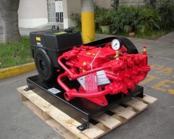 Gasoline Or Diesel Engine Driven Wash Pump.