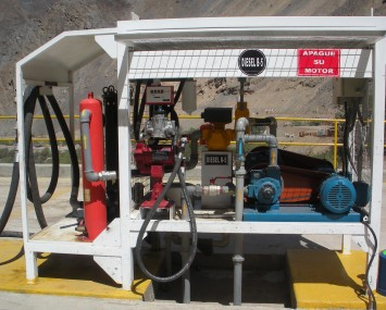 Equipment For Dispensing Fuel To Vehicles In Mining Operations