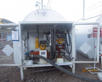 High And Low Flow Fuel Dispensing Unit
