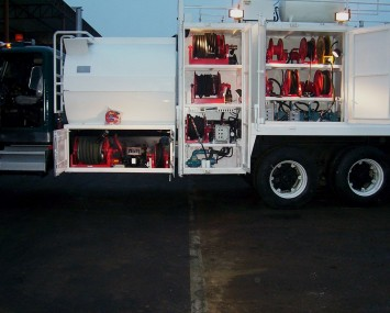 Multipurpose Truck For Dispensing Fuel And Lubricants