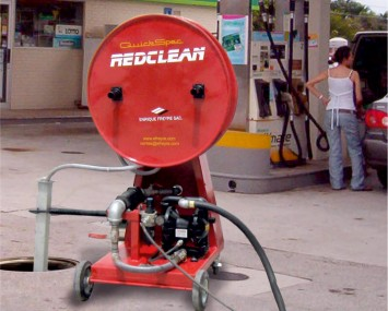 Underground Tank Cleaning Equipment With Air Driven Explosion Proof Pump