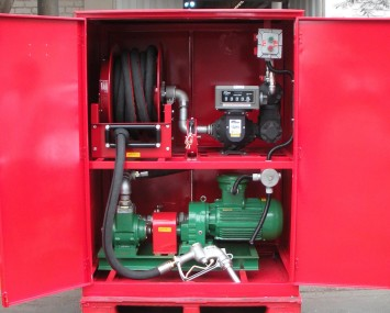 Cabinet With Conventional Nozzle