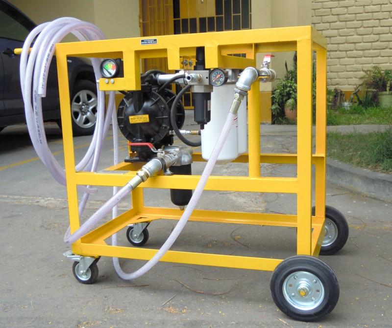 Equipo para limpieza de tanques de combustible for Limpieza de tanques de combustible