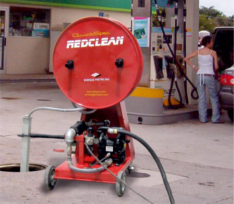 Limpiador de tanques subterraneos con bomba enrique for Limpieza de tanques de combustible