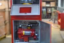 Surtidor Industrial Con Gabinete Y Motor Monofasico