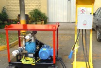 Modulo para Despacho de Combustible con Botonera