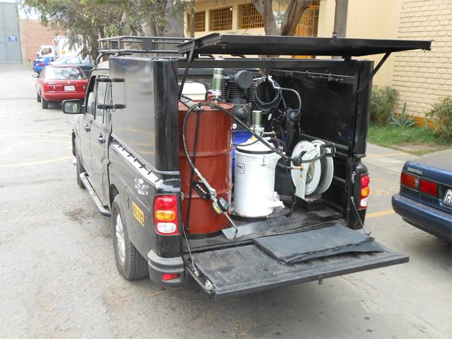 Sistema-de-Lubricación-Montado-En-Camioneta