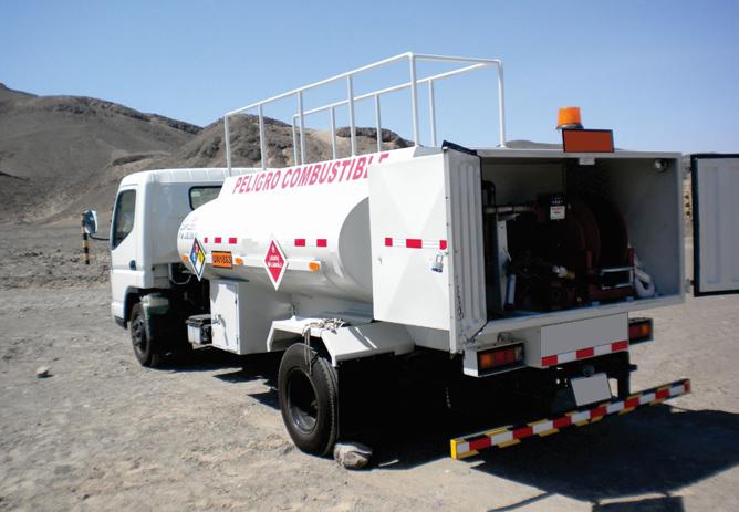 Tipos de tanques de combustible para camiones