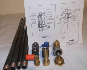 Kit De Adaptador De Sifon Para Bomba Sumergible
